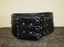 romanian traditional leather belt girdle handmade hunter belt leather ethnic girdle 91