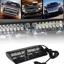 16 led high intensity warning strobe lights law enforcement emergency for interior roof dash windshield with suction cups emergency lighting emergency