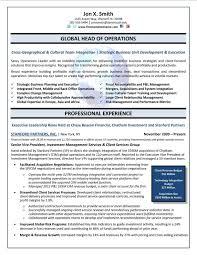 Resume Template Executive Resume Format Free Career Resume Template