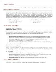 Administrative Assistant Sample Resume Impressive Sample Executive Admin Vintage Free Administrative Assistant Resume