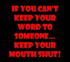 Keep Your Word Quotes Cool Keeping Your Word Quotes Sayings On QuotesTopics