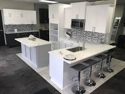 east coast granite of wilmington showroom displays modern kitchen and bathroom design