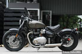 2017 triumph street scrambler and bobber now in malaysia priced