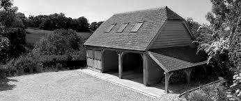 three bay room above oak framed garage home