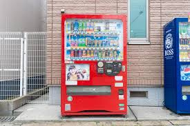 Japanese Human Vending Machine Stunning Osaka JAPAN CIRCA June 48 Vending Machines Of Various Com