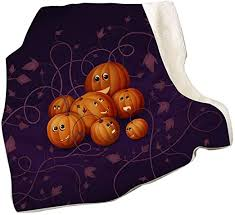 MA87 <b>Halloween</b> Carpet Double Thick Blanket 3D <b>Digital Printing</b> ...