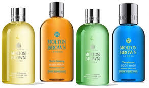 molton brown body wash 4 piece collection gift set
