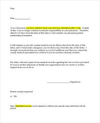 Letter Of Dismissal Template Sample Dismissal Letter Template 100 Free Documents Download In 92