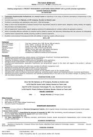 Experienced Resume Sample IT Resume Format Resume Samples for IT IT CV Format Naukri 11
