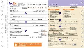 Online Shipping Labels How To Complete Shipping Labels And Shipping Documents Fedex