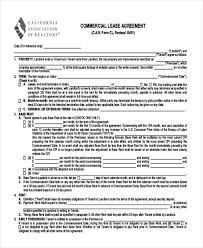 Commercial Lease Agreement Sample Beauteous Sample Lease Agreement Form 48 Free Documents In Doc PDF