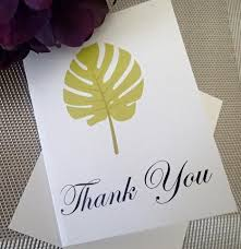 Custom Thank You Notes ( Set Of 25) / Thank You Card/ Wedding ...