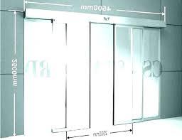 Pgt Sliding Glass Door Size Chart Sliding Glass Door Size Standard Typical Width Triple Pocket
