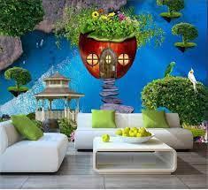 Wall Decoration 3D Wallpaper Photo ...