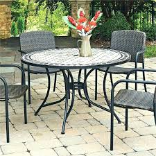 patio dining table black patio dining set home styles patio dining table only black patio dining
