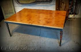details about custom made coffee table 19th c new orleans cast iron legs 52 x 3ft top