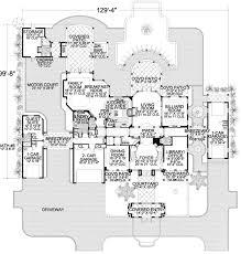 Luxury Spanish Estate   AA   nd Floor Master Suite  Butler    Floor Plan