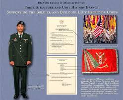 Army Unit Awards Chart Organizational History Program U S Army Center Of