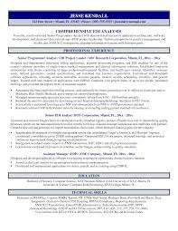 Cover Letter Obiee Business Analyst Resume Best Sample Easy Sa Sevte
