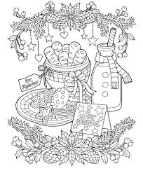 Christmas Cookies Coloring Page Patterns Pinterest Christmas 17 Best Dessin C3 A0 Colorier Images On Pinterest Drawings Digi L