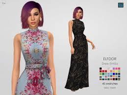 Elfdor: Dress Emilia • Sims 4 Downloads