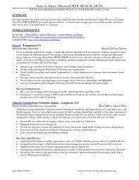 mcse resume samples 51 fresh project management resume samples resume templates 2018