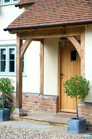 front door overhangFront Doors  Border Oak Lean To Porch Could Be Contemporary Porch