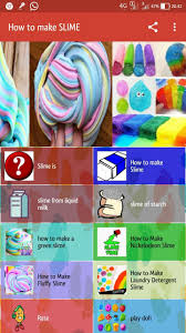 how to make slime and slime without glue and borax poster