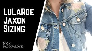 Lularoe Jaxon Denim Jacket Sizing Youtube