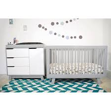 babyletto hudson in convertible crib in grey free shipping