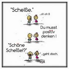 Positiv Denken Loslachench
