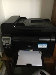 Hp Laserjet Pro M175nw All In One Laser Printer Very Good Working