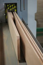 the process to create a quality engineered is to re saw our existing individual kiln dried blanks into three veneers