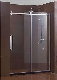 sliding shower doors best of frameless glass sliding shower doors doors design modern