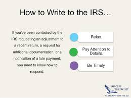 how to write a letter of explanation to the irs from success tax relief 2 638 cb=