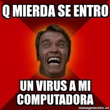 Meme Arnold - q mierda se entro un virus a mi computadora - 5910580 via Relatably.com