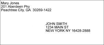 7 Format For Sending A Letter On Envelope Gospel Connoisseur