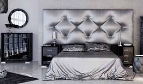 black and silver bedroom furniture. Franco Furniture Fenix FF35 Bedroom Set In Black \u0026 Silver. Click To Zoom And Silver M