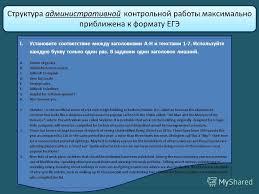 Анализ административных итоговых контрольных работ начальной школы  Как провести административные контрольные работы