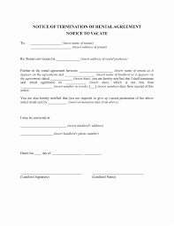 landlord notice to vacate al property 20 inspirational tenancy notice letter template uk of 41 landlord