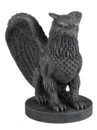 griffin gargoyle sculptural sculpture