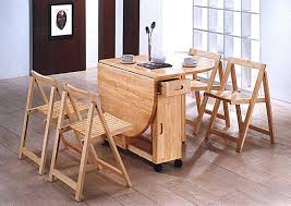 Superior ... Table Cute Folding Kitchen 4 Foldable For Small Spaces With Chairs  Cooperavenue Folding Kitchen Table For ...