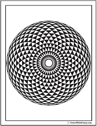 You may use these picture for backgrounds on computer with best quality. 70 Geometric Coloring Pages To Print And Customize