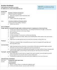 10 Internship Curriculum Vitae Templates Pdf Doc Free