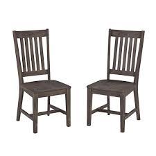 Home Styles Concrete Chic Dining Patio Armchair (Set Of 2)