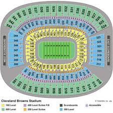 Cleveland Brown Stadium Seating Chart 60 Prototypic Cleveland Browns Stadium Seat Chart