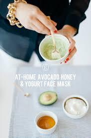 everygirl avocado face mask diy