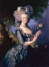 french elegance how did women dress in the th century  marie antoinette queen of elisabeth vigee lebrun 1783 palace