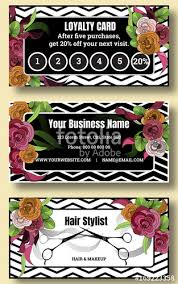 Beauty Salon With Black And White Stripes Look Discount Coupon