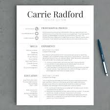 Professional Resume Template Free Enchanting Professional Cv Template Illw
